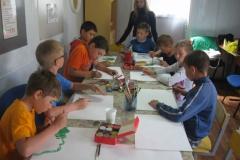 Воспитанники ДЛО Пятибороец увлечены творческим делом