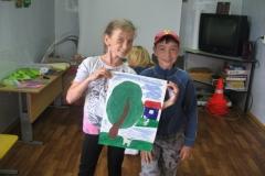 У Елизаветы Пономаренко рисунок удался