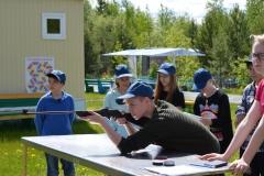 Воспитанники лагеря Калейдоскоп на этапе Снайпер