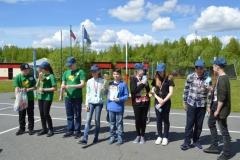 Команда лагеря Калейдоскоп - 2 место