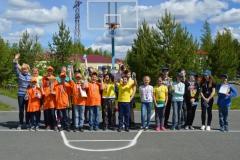 Участники игры Зарница 1 смены 2019
