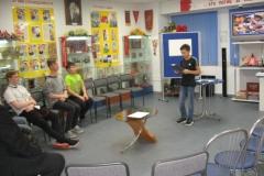 Выступление воспитанников ко Обелиск на тематическом часе по  теме Толерантность