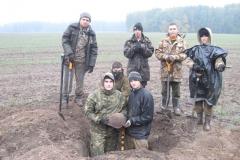 Работа на поле под с. Шведчики