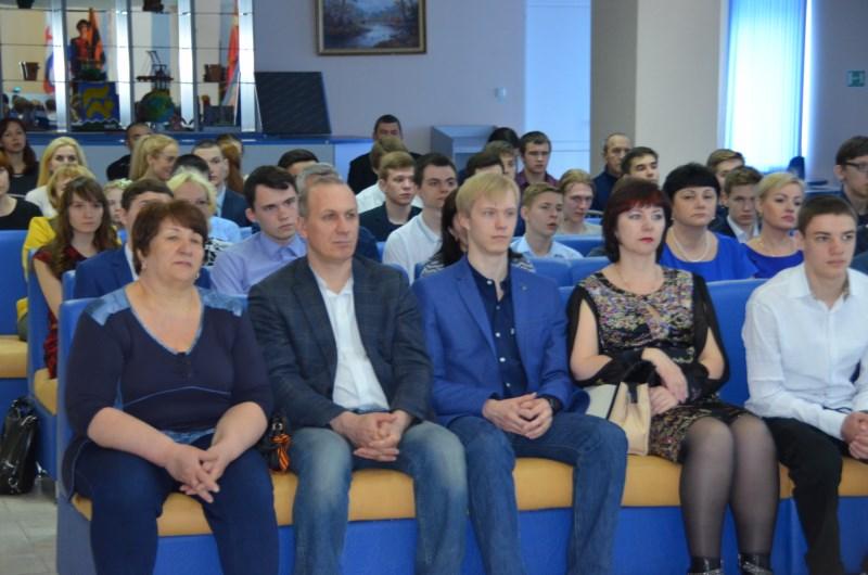 Участники церемонии награждения Выпускник - 2017