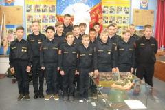 Обучающиеся 6 кадетского класса после мероприятия Бой за свободу