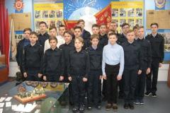 Обучающиеся 7К после мероприятия в музее Боевой Славы