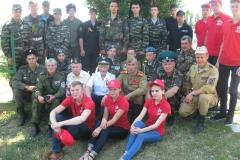 Поисковики Югры с ветеранами и волонтёрами