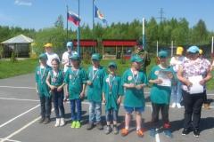 Команда лагеря Пятиборец в упорной борьбе завеовала 2 место