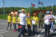 Награждение команды лагеря Витамин успеха 3 место