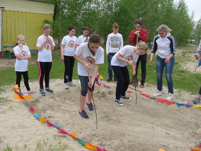 Лагерь Русичи на этапе Следопыт