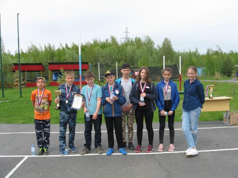 Победители игры 2 место - команда лагеря Витамин успеха