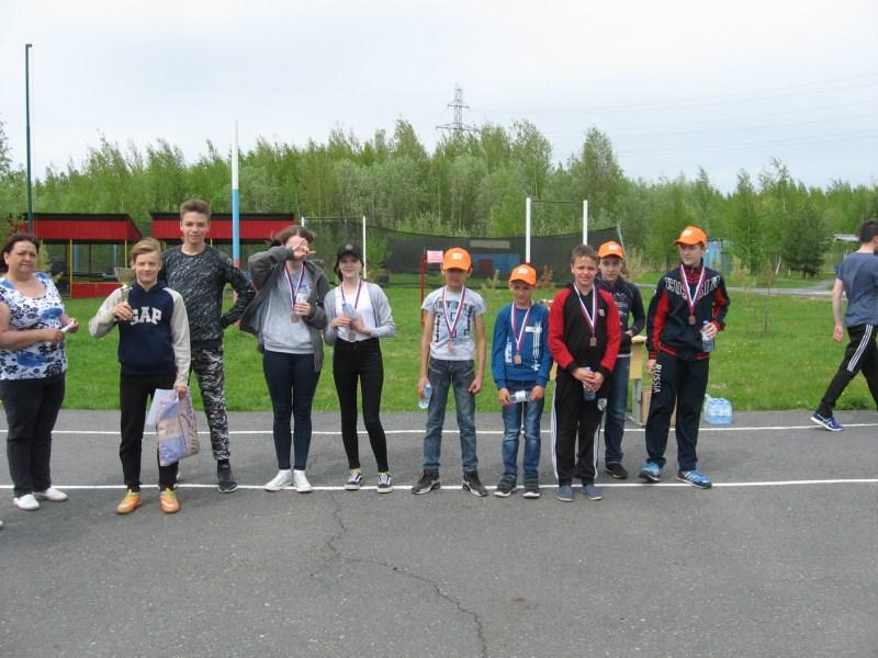 Победители игры - 3 место команда Лагеря Триал