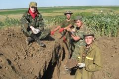 Лангепассцы в окопах Сталинграда