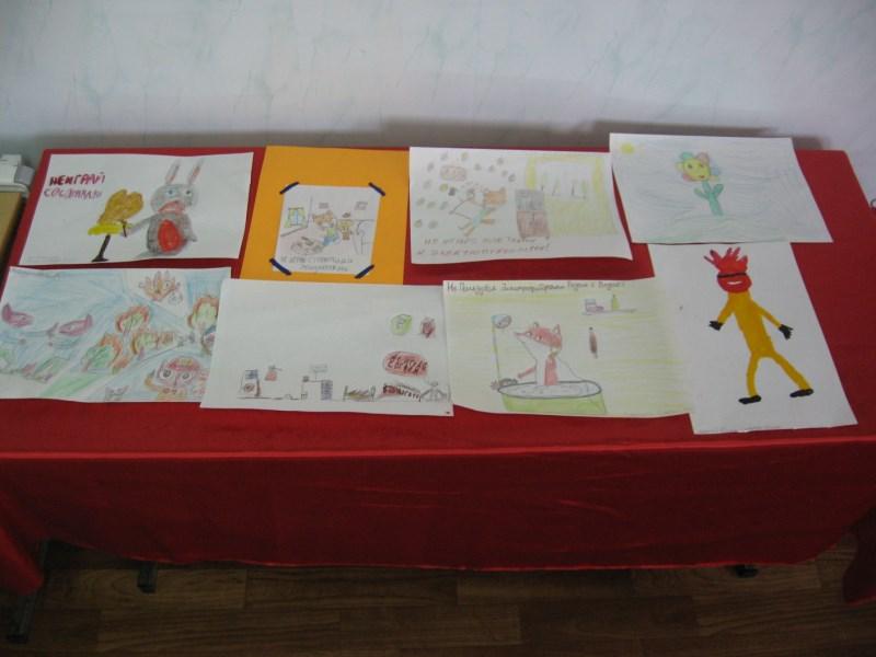 Конкурс рисунков Коварная спичка