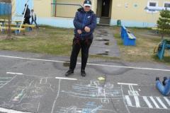 Кутузов Павел завершил свой рисунок