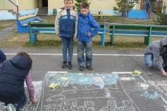 Юные художники 1 отряда
