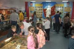 Осмотр музейных реликвий