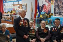 8_Ветеран Великой Отечественной войны Н.Т. Марянинов при обсуждении проектов