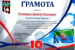 Грамота Румянцеву Артёму [DVD (NTSC)]