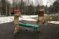 Метание лопаток