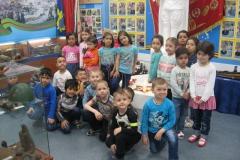 Воспитанники детского сада Брусничка у Вечного огня