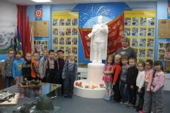 Воспитанники детского сада Золотой петушок после музейной  экскурсии